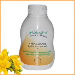 Crema Solare Bassa Protezione 8        250ml