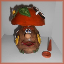 Fungo in Terracotta