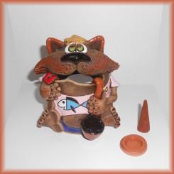 Gatto in Terracotta