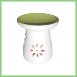 Brucia Essenze classico forato bianco
