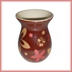 Brucia Essenze classico marrone con fiori
