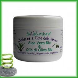 Crema Multiuso Aloe Vera Bio e Olio di Oliva Bio   250 ml