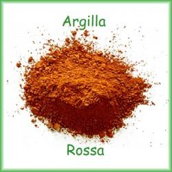 Argilla Rossa - pelli grasse e impure  gr.100