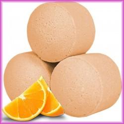 Bombe frizzanti mini all'arancia
