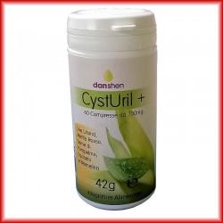 CystUril + compresse Uva ursina, Mirtillo rosso, Seme di pompelmo, Equiseto e Bromelina